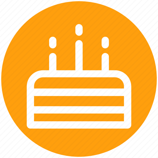 .svg, birthday cake, cake, celebrations, food, sweet food icon