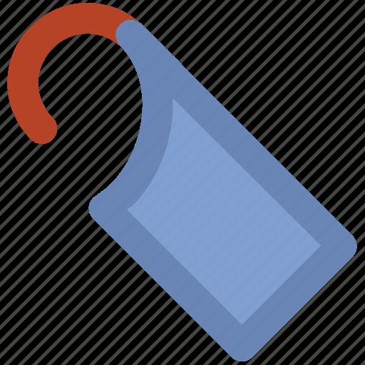 door hanger, door label, hanger knob, privacy icon