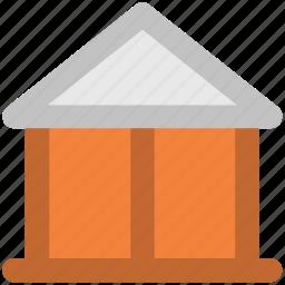 building, home, house, hut, real estate, villa icon