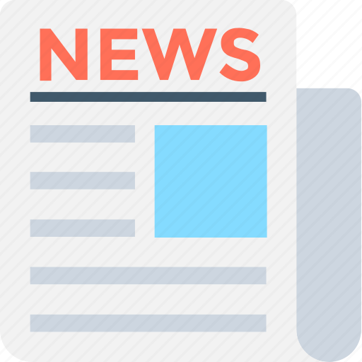Media, news, news article, news blog, newspaper icon - Download on Iconfinder