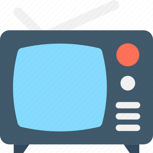 electronics, technology, tv, tv monitor, tv set icon