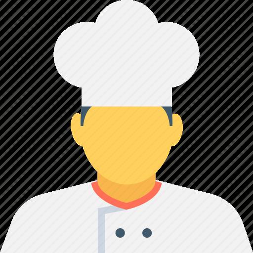 chef, cook, cook head, cuisine, restaurant chef icon
