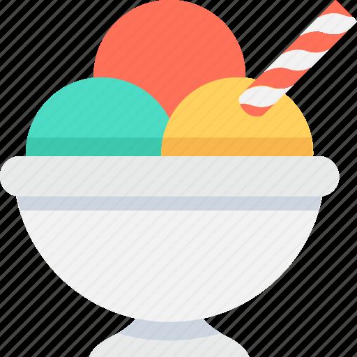Dessert, frozen dessert, ice cream, ice cream cup, sweet food icon - Download on Iconfinder