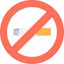 cigarette not allowed, cigarette restriction, no cigarette, no smoking, smoking icon