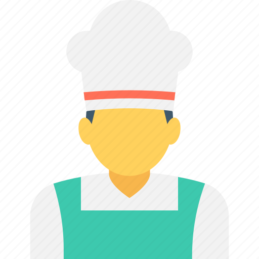 chef, chef avatar, cook, head cook, occupation icon