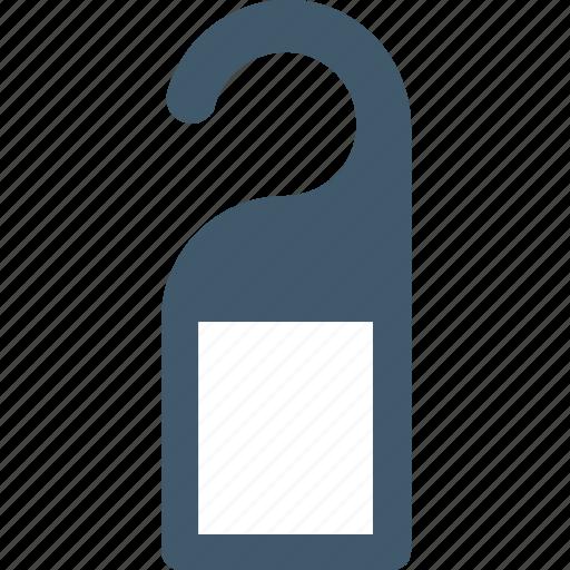 do not disturb, door hanger, door label, door sign, doorknob sign icon