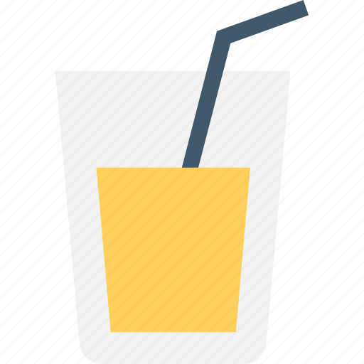 beverage, cold drink, drink, juice, straw icon