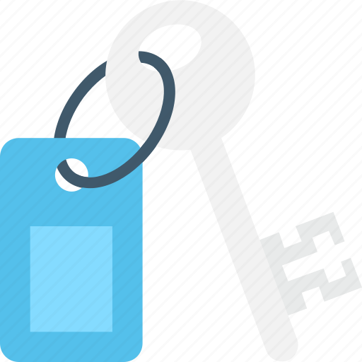 Door key, key, protection, room key, security icon - Download on Iconfinder