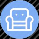 .svg, armchair, furniture, recliner, seat sofa, settee, sofa