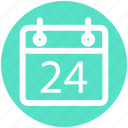 .svg, agenda, appointment, calendar, daybook, wall calendar icon