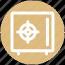 .svg, hotel safe, locker, money safe, safe, secure, vault icon