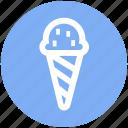 .svg, frozen dessert, frozen yogurt, ice cream, ice cream balls, sweet icon