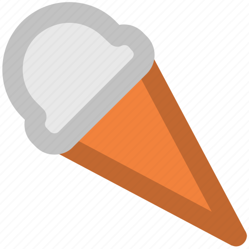 Cake cone, cone, cup cone, dessert, ice cone, ice cream, sweet food icon - Download on Iconfinder