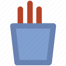 chips, french fries, fries, fries pack, junk food, potato fries icon