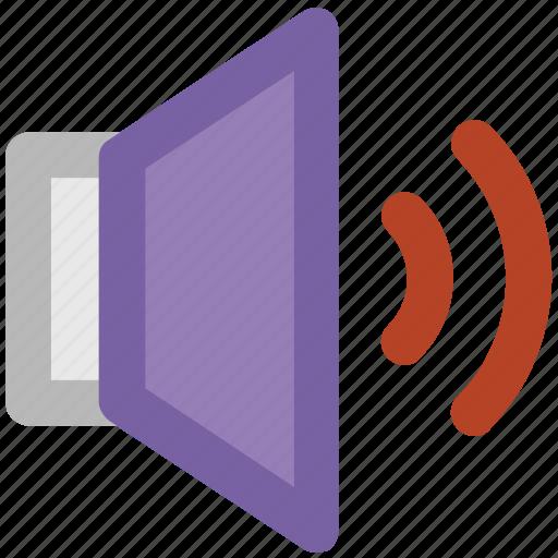 audio, audio speaker, loud, music, sound, speaker, volume icon