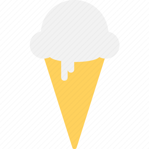Dessert, ice cone, ice cream, snow cone, sweet food icon - Download on Iconfinder
