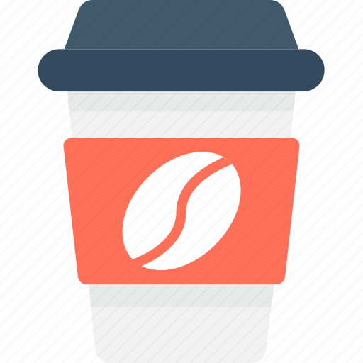Coffee, coffee cup, cold coffee, disposable cup, paper cup icon - Download on Iconfinder