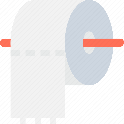 Cleaning paper, paper roll, tissue paper, tissue roll, toilet paper icon - Download on Iconfinder