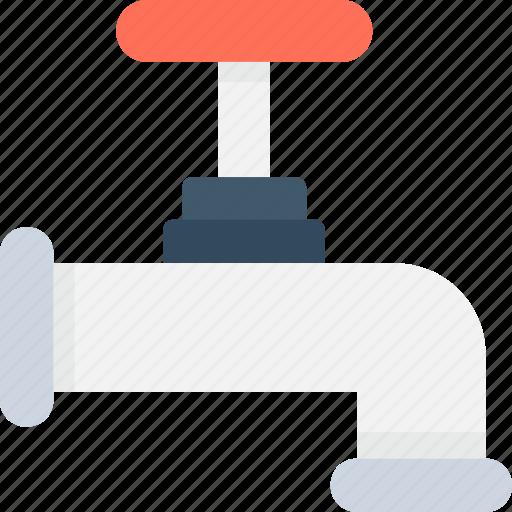 Faucet, plumbing, spigot valve, tap, water tap icon - Download on Iconfinder
