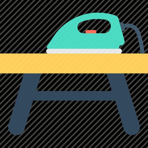 furniture, iron, iron desk, iron stand, iron table icon