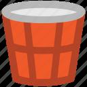 garbage can, litter bin, paper bucket, rubbish bin, trash bin, trash can