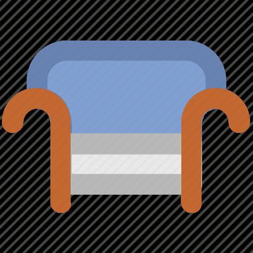 armchair, furniture, seat sofa, settee, sofa icon