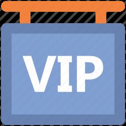 hanging board, info board, signboard, vip board icon
