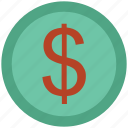 coin, commerce, currency, dollar, finance, money, saving