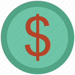 coin, commerce, currency, dollar, finance, money, saving icon