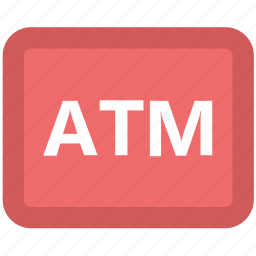 atm, atm card, banking, finance, online banking, transaction, withdrawal icon