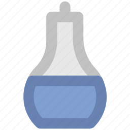 chemical, conical flask, erlenmeyer flask, flask, lab, laboratory icon