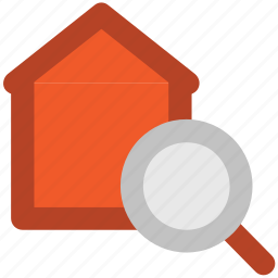 find home, home services, property search, real estate, search home icon