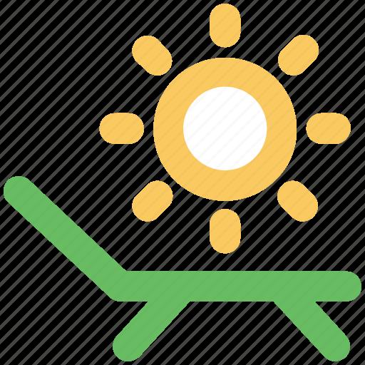 beach, poolside, sun tanning, sunbathe, sunshade, tanning icon