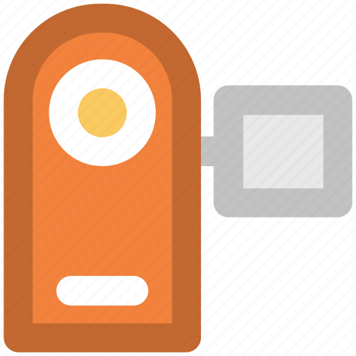 handycam, movie camera, video camera, video maker icon