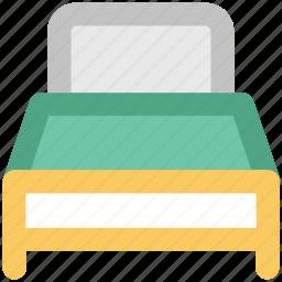bed, bedroom, bedroom furniture, furniture, rest, sleeping, sleeping bed icon