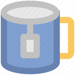 hot tea, tea, tea bag, tea cup, tea pack icon
