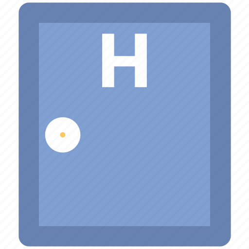 health clinic, hospital, hospital door, hospital gate, medical center, medical facility icon