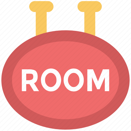 hanging board, info board, room board, signboard icon