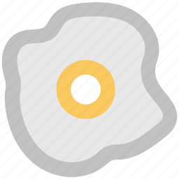 breakfast, egg, egg omelette, fried egg, scrambled egg icon