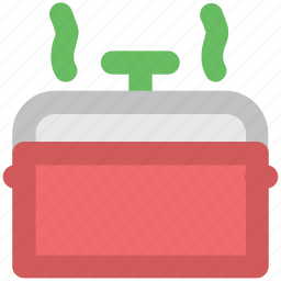 cooker, cooking pot, cookware, hot pot, pan, pressure cooker, saucepan icon