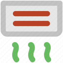 ac, air cold, air conditioner, conditioner, indoor ac, indoor air conditioner icon