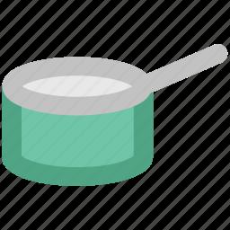 cooker, cooking pot, cookware, hot pot, pan, saucepan icon