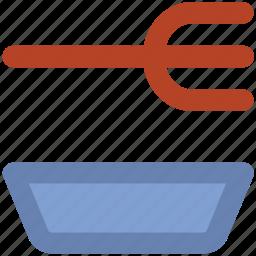 cutlery, eating, flatware, fork, kitchen utensils, restaurant, utensil icon