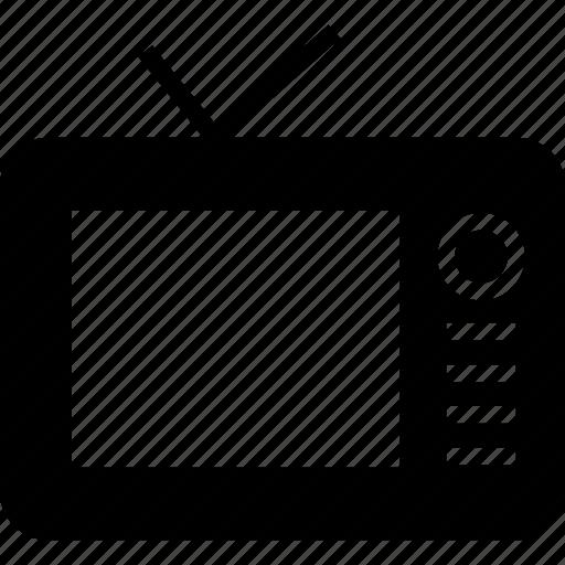 monitor, television, tv icon