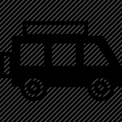 pick and drop, truck, van, wagon icon