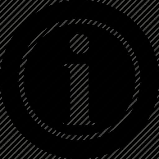 i, tag icon