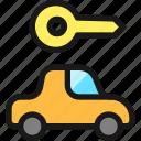 key, car
