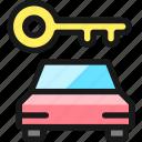 car, key