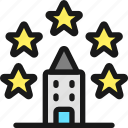 rating, five, star, hotel