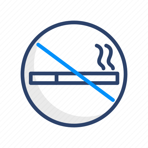 no, prohibited, smoking, travel icon